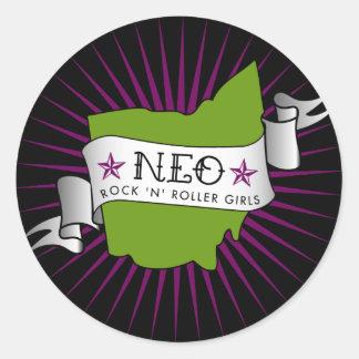 neo rock'n'roller girls sticker