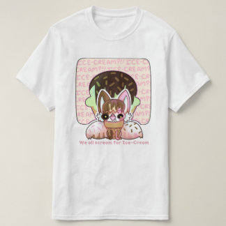 Neo Screams Ice-Scream T-Shirt