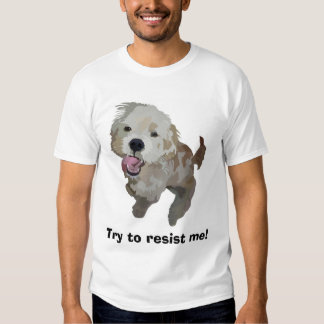 Neo the Dog, Try to resist me! Tee Shirt