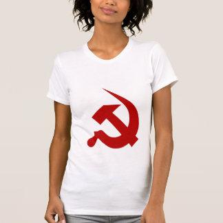 Neo-Thick Dark Red Hammer & Sickle Shirt
