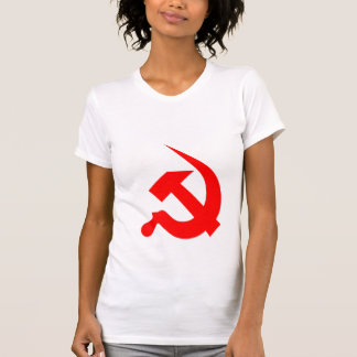 Neo-Thick Red Hammer & Sickle Tshirts