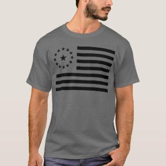 Neo United States Cowpens Flag   Dark Grey T-Shirt