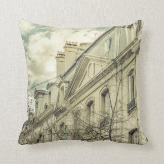 Neoclassical Style Buildings in Buenos Aires, Arge Throw Pillow