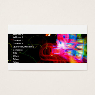 Neon 2 business card