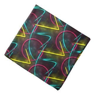 Neon 80s Pattern Bandana