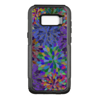 Neon Abstract Pattern OtterBox Commuter Samsung Galaxy S8+ Case