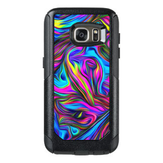 Neon Abstract Pattern OtterBox Samsung Galaxy S7 Case