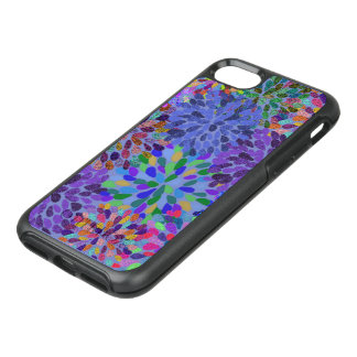 Neon Abstract Pattern OtterBox Symmetry iPhone 7 Case