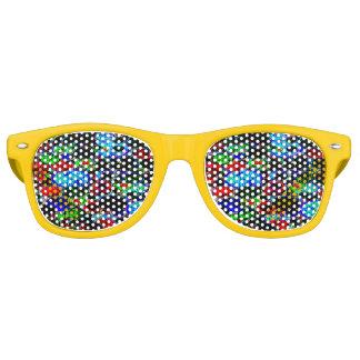 neon abstract retro sunglasses