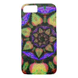 Neon abstract spiral Case-Mate iPhone case