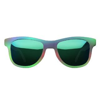 Neon abstract sunglasses