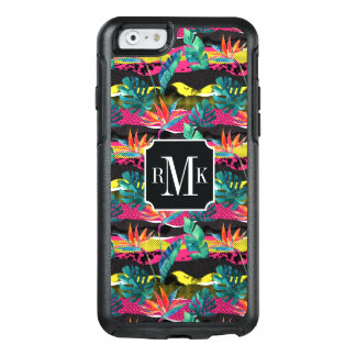 Neon Abstract Tropical Texture Pattern OtterBox iPhone 6/6s Case