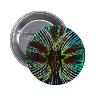 Neon Amaryllis Pinback Buttons