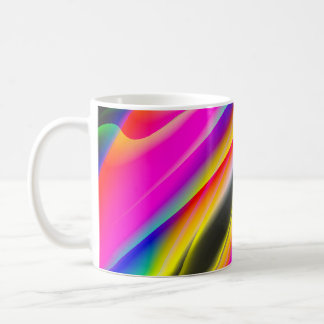 Neon Art Mug by Leslie