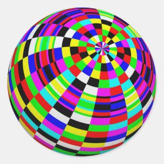 neon ball stickers
