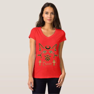 Neon Bast Ladies V-Neck Jersey T-Shirt