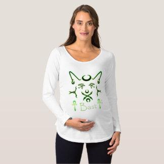 Neon Bast Maternity Long Sleeve Shirt