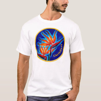 Neon Bird-of-Paradise T-Shirt