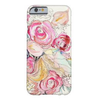 Neon Blooms iPhone 6 case