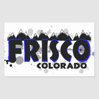 Neon blue grunge Frisco Colorado