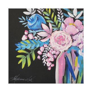Neon Bouquet Print