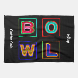 Neon Bowl, Team Bowling Towels