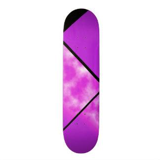 Neon Bright Purple Pink Sky Customizable Deck 0 Skateboard Decks