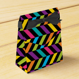 Neon Bright trendy fashion colorful design 1 Favor Box