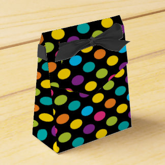 Neon Bright trendy fashion colorful design 3 Favor Box