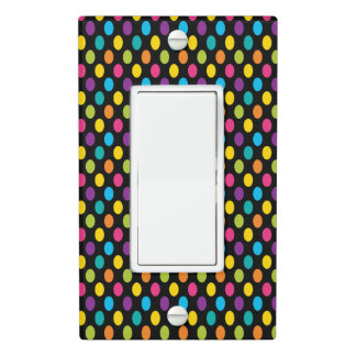 Neon Bright trendy fashion colorful design 3 Light Switch Cover