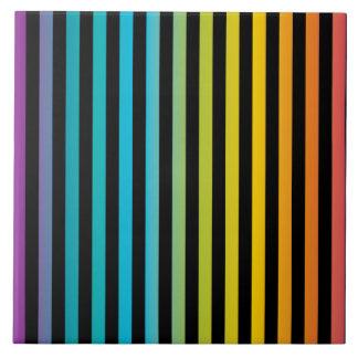 Neon Bright trendy fashion colorful design 6 Tile