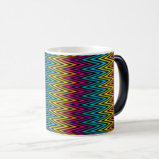 Neon Bright trendy fashion colorful design 8 Magic Mug