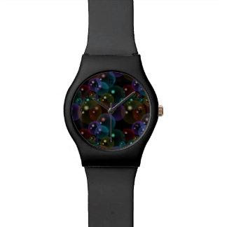 Neon Bubbles Wrist Watch