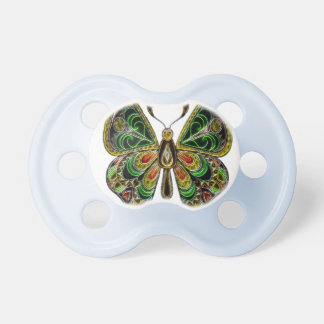 Neon Butterfly Baby Pacifiers