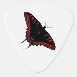 Neon butterfly pick
