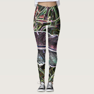 Neon Camo Style leggings
