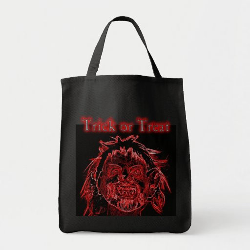 Neon Cannibal Trick or treat Tote Bag