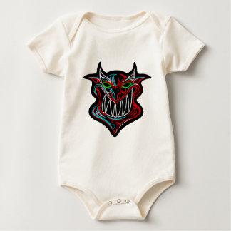 Neon Cartoon Devil Baby Bodysuit