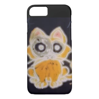 Neon Cat iPhone 8/7 Case