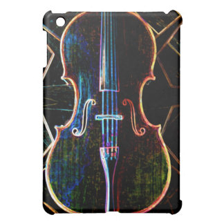 Neon Cello iPad case