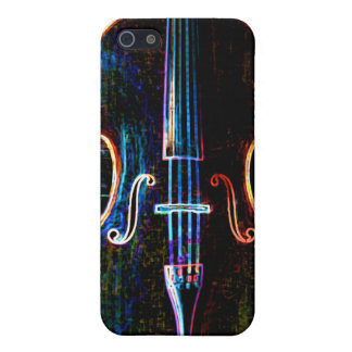 Neon Cello iPhone 5/5S Cover