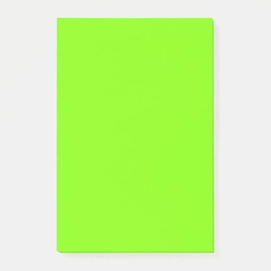 Neon Chartreuse Best Monochrome Post-it® Notes