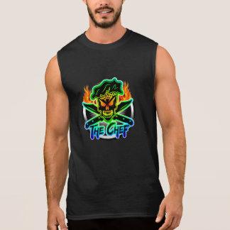 Neon Chef Skull Sleeveless Shirt