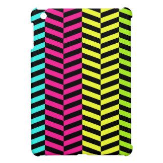 Neon Chevron iPad Mini Case