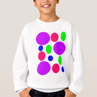 Neon Circles Design Sweatshirt