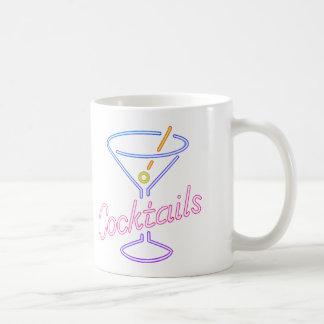 Neon Cocktails Sign Mug