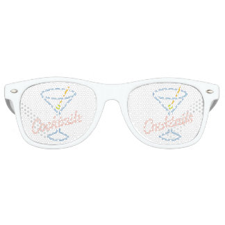 Neon Cocktails Sign Sunglasses