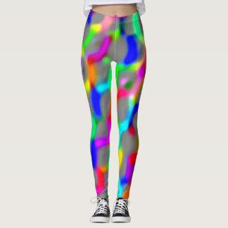 Neon Color Links Leggings