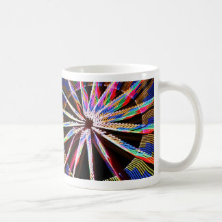 neon colors fair ride image neat abstract design coffee mugs