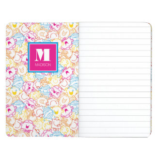 Neon Colors Pattern | Add Your Name Journals